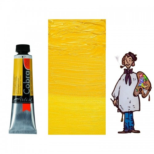 Cobra Artist 40ML AMARILLO CADMIO MEDIO 271 - S4