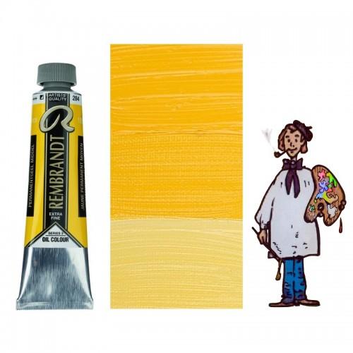 Rembrandt óleo 40ml - AMARILLO PERMANENTE MEDIO 284 s3 - S/O