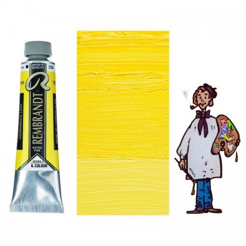 Rembrandt óleo 40ml - AMARILLO CADMIO CLARO 208 s4 - O