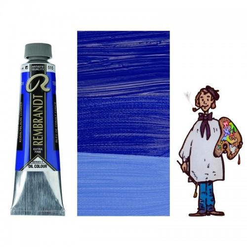 Rembrandt óleo tubo 40ml – AZUL COBALTO OSCURO 507 s5