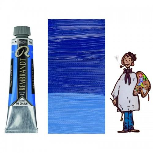 Rembrandt óleo 40ml - AZUL COBALTO CLARO 513 s5 - S/O