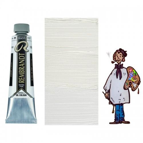 "Rembrandt óleo 40ml - BLANCO CINC ""aceite linaza""117 s1-S/O"
