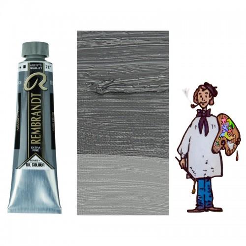 Rembrandt óleo 40ml - GRIS FRÍO 717 s1 - O