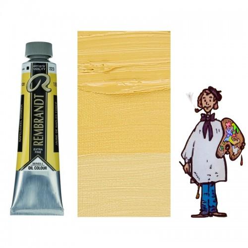 Rembrandt óleo 40ml - AMARILLO NAPOLES OSCURO 223 s2 - O