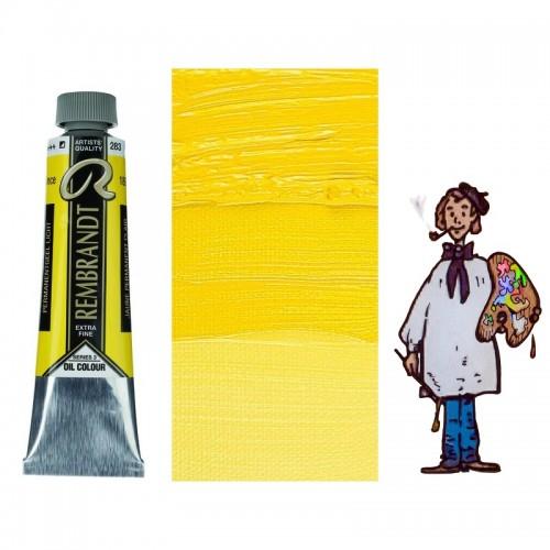 Rembrandt óleo 40ml - AMARILLO PERMANENTE CLARO 283 s3 - S/O