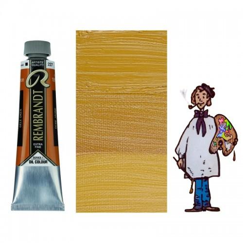 Rembrandt óleo 40ml - OCRE AMARILLO 227 s1 - O