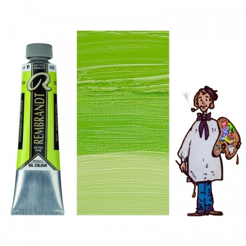 Rembrandt óleo 40ml - VERDE AMARILLENTO PERMANENTE 633 s3 - SO