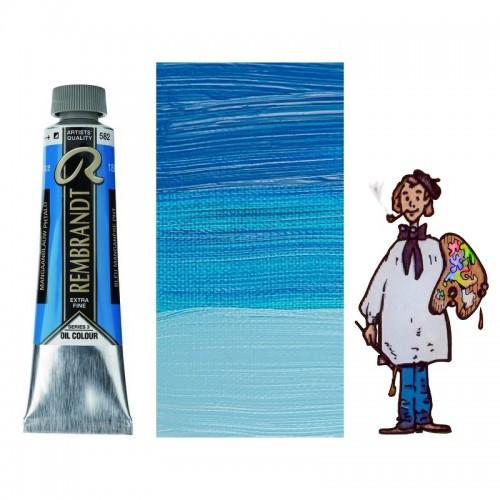 Rembrandt óleo 40ml - AZUL MANGANESO FTALO 582 s3 - S/O