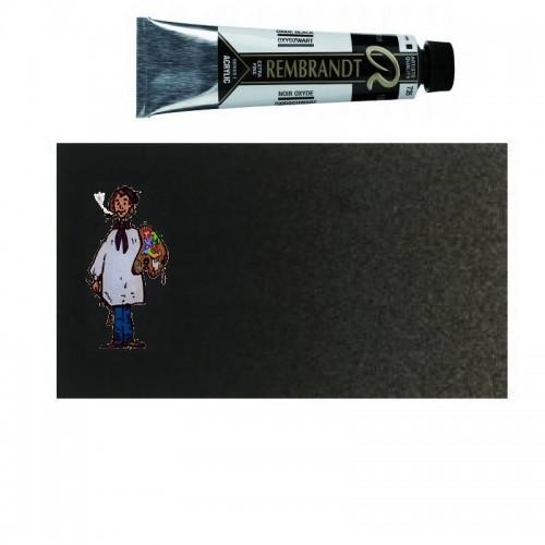Acrílico Rembrandt NEGRO OXIDO 735 40ml – s1