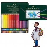 Caja Lápices acuerelables Albrecht Dürer Faber Castell 120 colores
