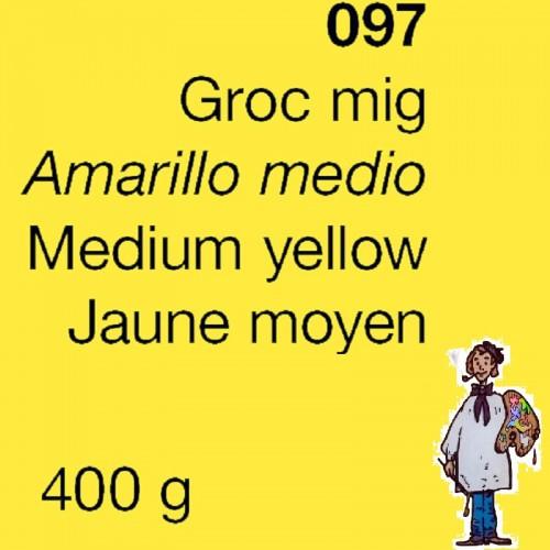PIGMENTO DALBE 400gr - AMARILLO MEDIO