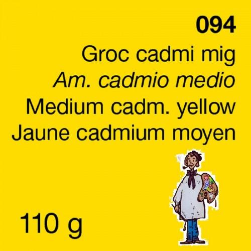 PIGMENTO DALBE 110gr - AMARILLO CADMIO MEDIO IMIT