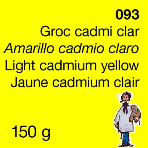 PIGMENTO DALBE 150gr - AMARILLO CADMIO CLARO IMIT