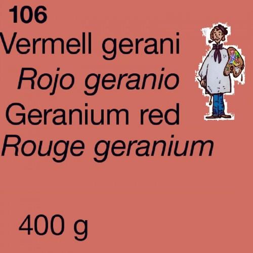 PIGMENTO DALBE 400gr - ROJO GERANIO
