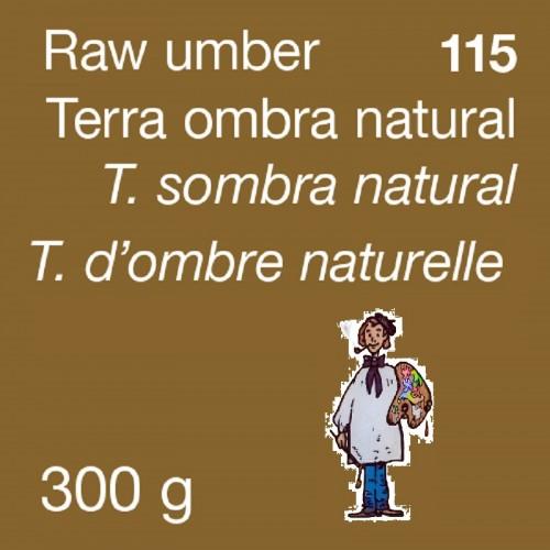 PIGMENTO DALBE 300gr - TIERRA SOMBRA NATURAL