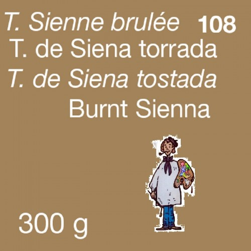 PIGMENTO DALBE 300gr - TIERRA SIENA TOSTADA