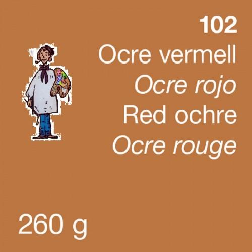 PIGMENTO DALBE 260gr - OCRE ROJO