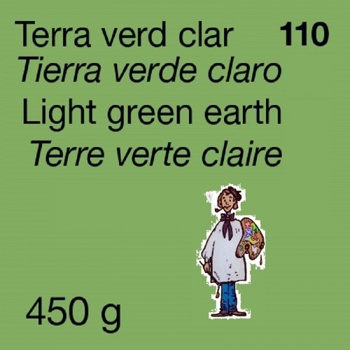PIGMENTO DALBE - 450gr TIERRA VERDE CLARO