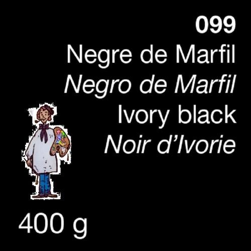 PIGMENTO DALBE - 400gr NEGRO MARFIL