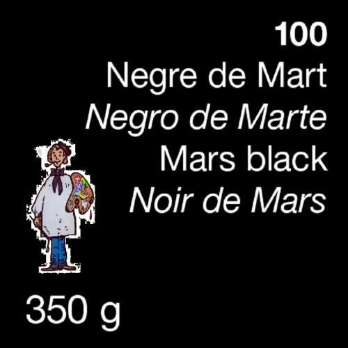 PIGMENTO DALBE 350gr - NEGRO DE MARTE