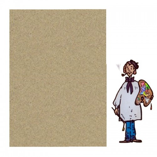 PASTEL CARD SENNELIER - paq 5 hojas 50x65 cm. GRIS CLARO 12