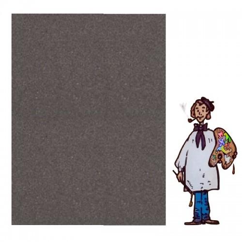 PASTEL CARD SENNELIER - paq 5 hojas 50x65 cm. NEGRO ANTRACITA