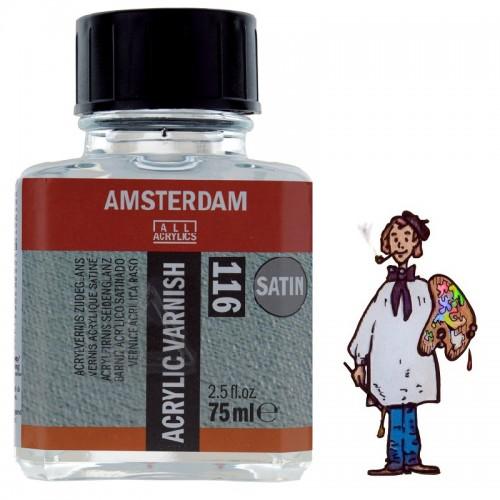 Barniz Acrílico Satinado 116 Amsterdam Talens, 75 Ml.