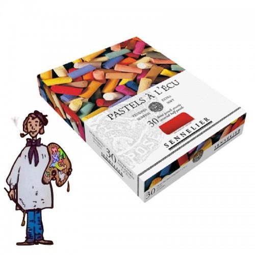 Caja cartón Pastel À L'ÉCU Sennelier 30 Medias Barras
