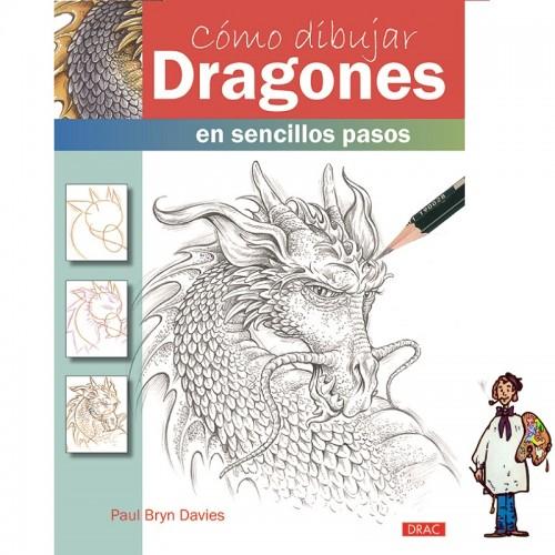 CÓMO DIBUJAR DRAGONES EN SENCILLOS PASOS