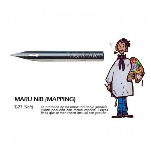 Plumilla Dibujo MARUP B Tachikawa TCKT772 - Juego de dos