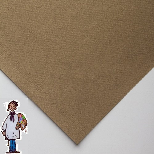 Mi–Teintes CANSON PAQ 10 HOJAS 65x50 CACHOU (ARENA)
