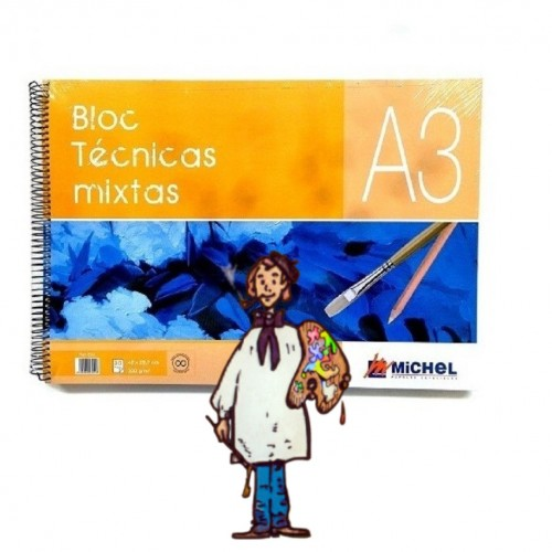 Bloc Técnicas Mixtas MICHEL  A3