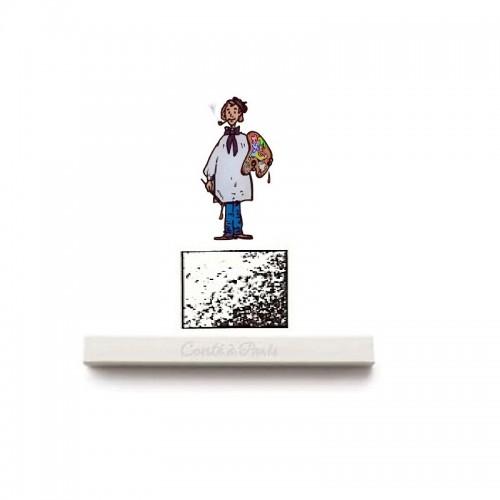 carré esbozo - blanco HB