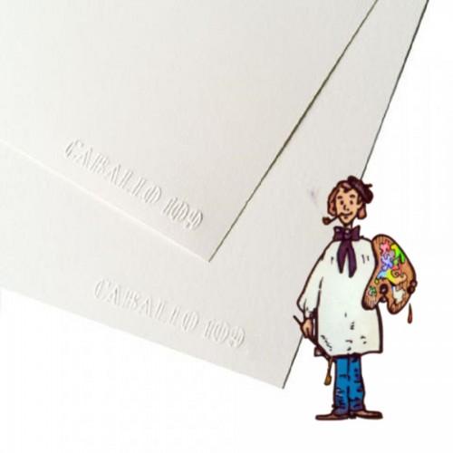 Papel Caballo 109 paquete de 100 hojas Din A4