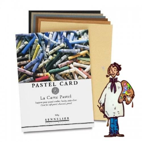 BLOC PASTEL CARD SENNELIER 12h 32x24cm