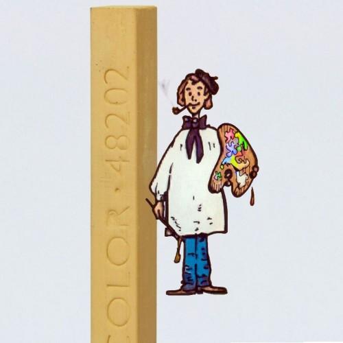 CRETA CRETACOLOR Nº 48202 OCRE CLARO