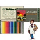 Caja metálica 36 lápices Polychromos Estuche 111 aniversario Faber Castell