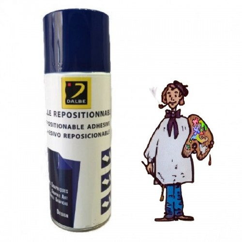 DALBE PEGAMENTO ADHESIVO REPOSICIONABLE EN SPRAY 400 ML