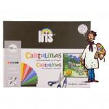 Minipack de cartulina Iris, 10 colores surtidos, formato A4 185 gramos