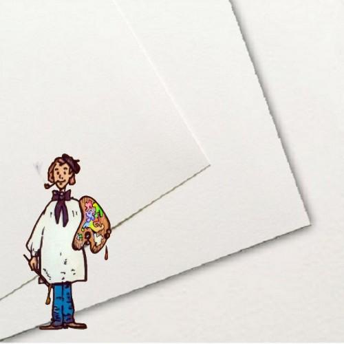Papel Basik, 370 gr. 50x70 cm - 5 hojas