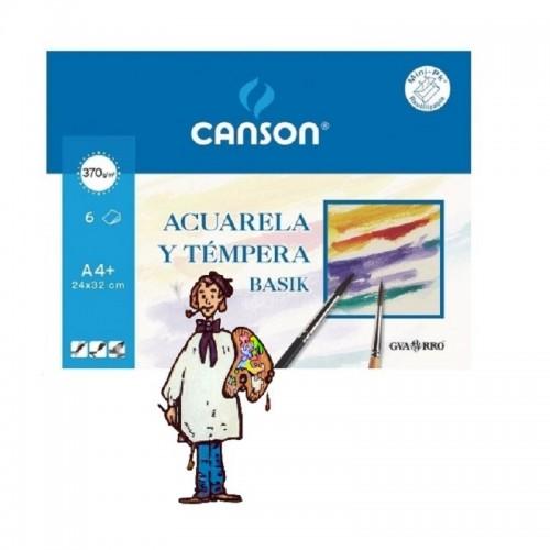 Basik Acuarela A4 (minipack) 6 h