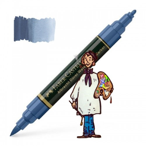 ALBRECHT DÜRER ROTULADOR ACUARELABLE   COLOR  247  azul de idantreno