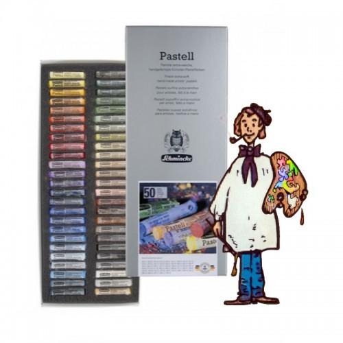 Caja  cartón  50 pasteles Schmincke