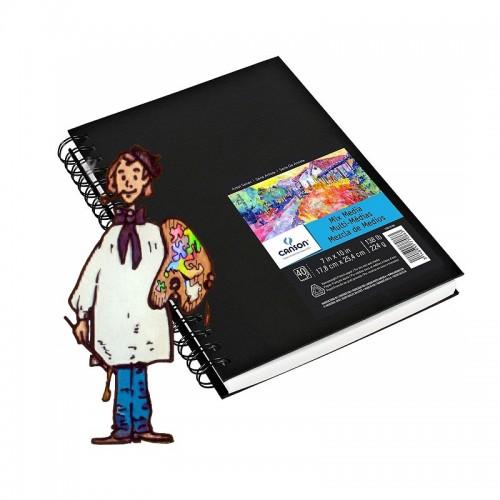 Bloc Art Mix Media de Canson 224gr 40h – 17.8x25.4cm