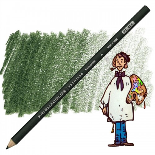 PRISMACOLOR DARK GREEN PC908