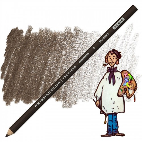 PRISMACOLOR DARK BROWN PC946