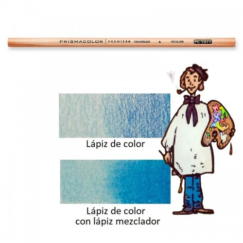 Lápiz Mezclador Incoloro Para Fundir Colores Prismacolor