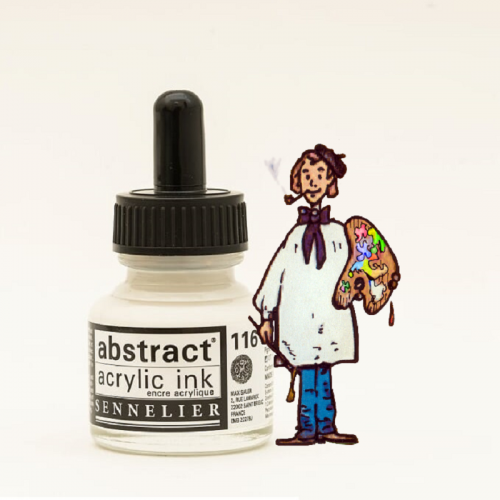 TINTA ACRÍLICA ABSTRACT 30 ML - BLANCO TITANIO 116