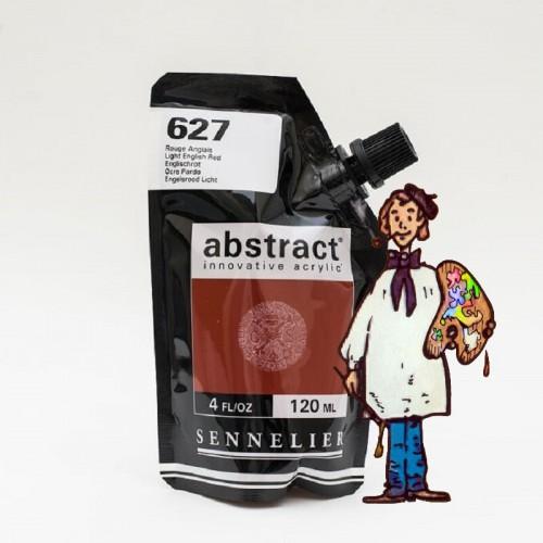 ACRÍLICO ABSTRACT- 120 ML -  OCRE PARDO 627