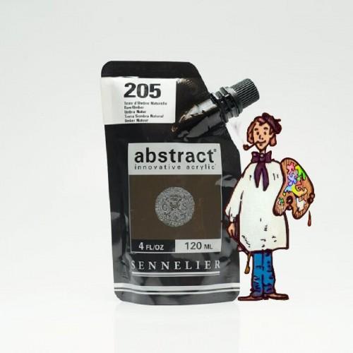 ACRÍLICO ABSTRACT- 120 ML -  TIERRA SOMBRA NATURAL 205